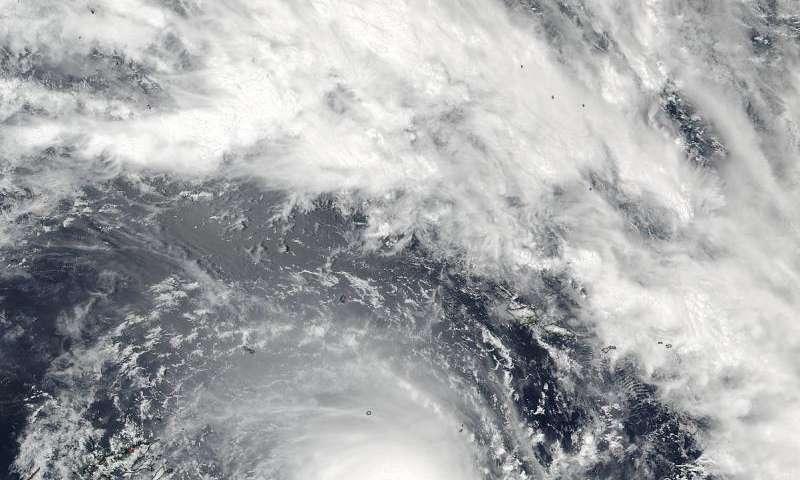 NASA sees major Tropical Cyclone Winston approaching Fiji