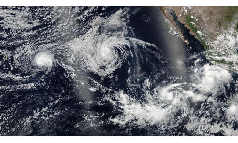 NASA spots Tropical Storm Darby as warnings posted in Hawaii