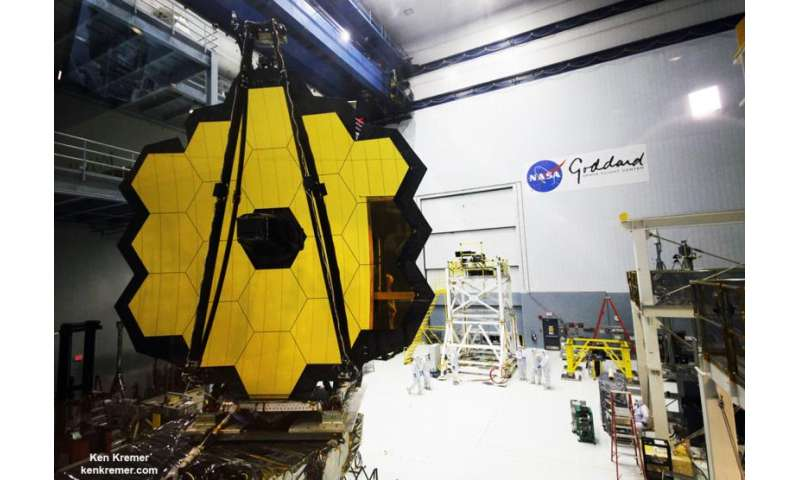 NASA Webb Telescope structure is sound after vibration testing detects anomaly