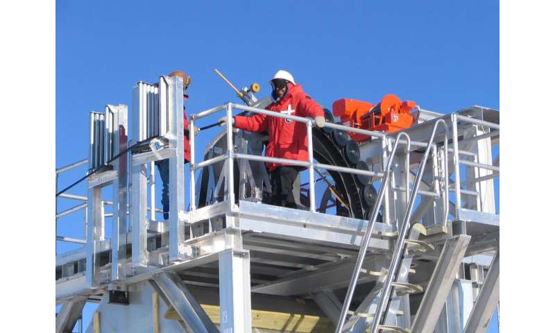 New detector at South Pole shows early success at neutrino hunting