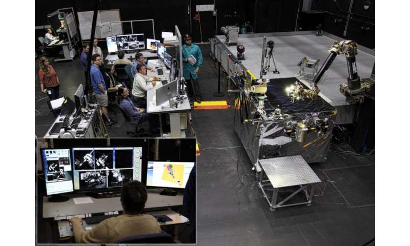 NRL engineers to lead payload development for robotic servicing of geosynchronous satellites