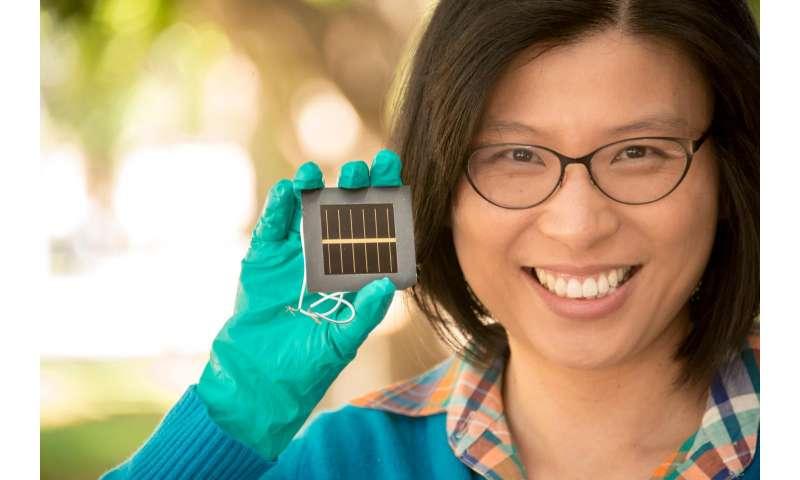 Perovskite solar cells hit new world efficiency record