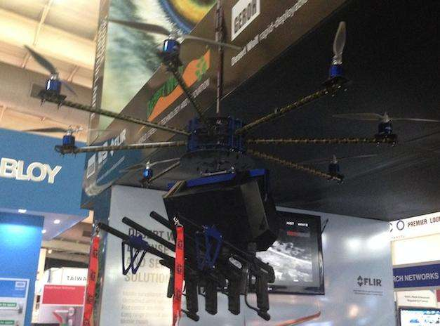 Researcher demonstrates how easy it is to hack police-type drone