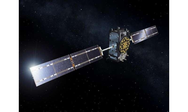 Satellite touchdown in run up to Galileo launch