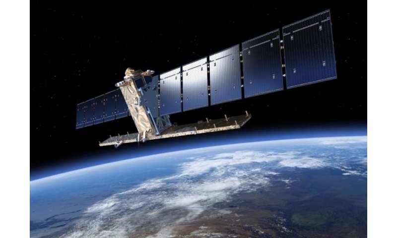 Sentinel-1 satellites combine radar vision