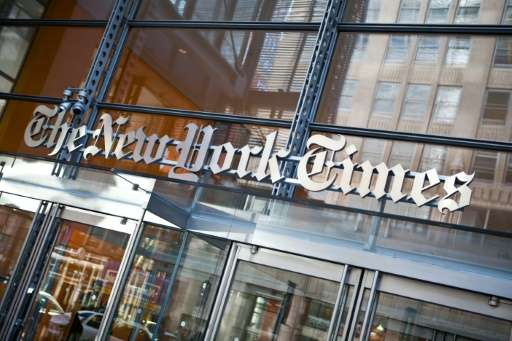 The New York Times reported a profit of $406,000—down 96 percent from the $9.4 million profit in the same period a year ago