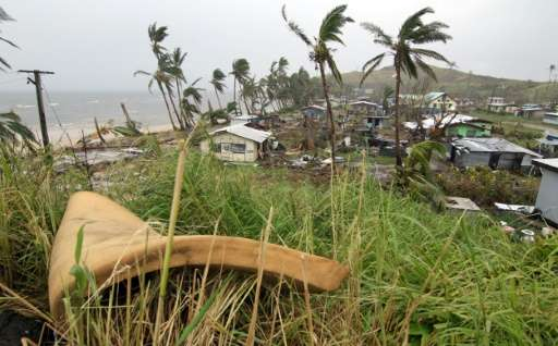 Tropical Cyclone Winston, the strongest ever to hit the south Pacific, affected some 250,000 people, or 40 percent of the region