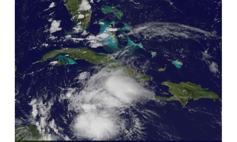 Tropical Storm Earl forms in Caribbean Sea