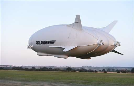 World's largest aircraft damaged on 2nd test flight