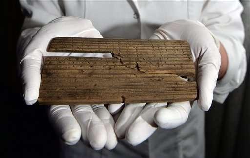 2,000-year-old handwritten documents found in London mud