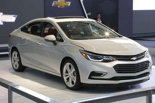 2016 Chevrolet Cruze fresh, smartphone-friendly and fast
