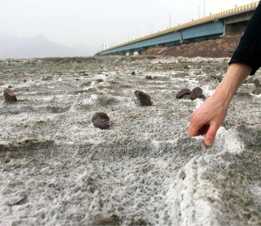 Climate change threatens already volatile Urmia Lake