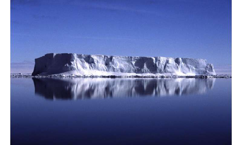 New study shows impact of Antarctic Ice Sheet on climate change