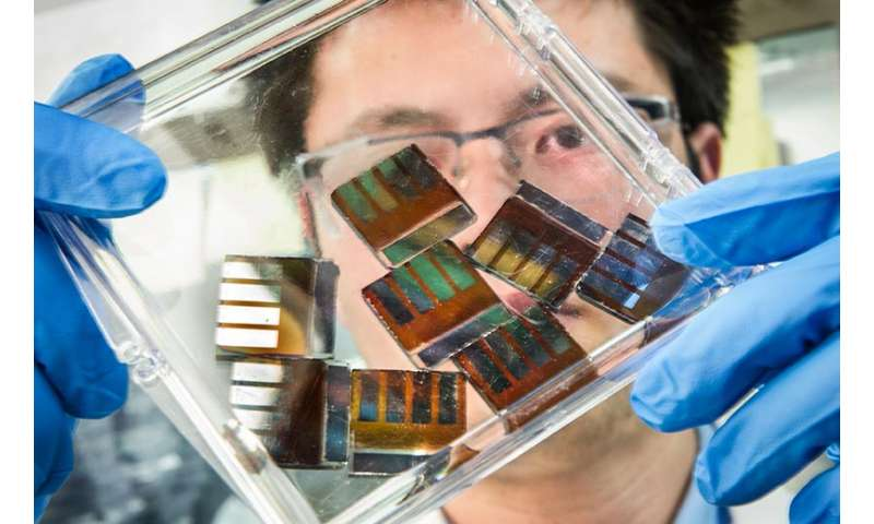 New technique leads to improved perovskite solar cells