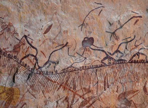 Development of new techniques makes it possible to date Australian Aboriginal rock art