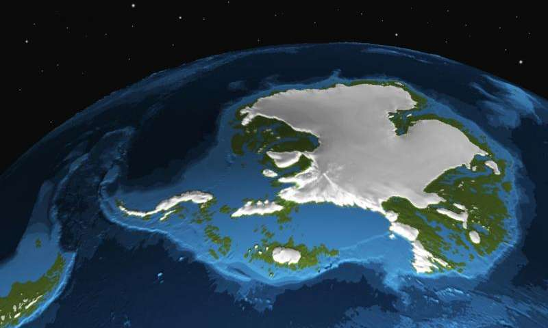 Antarctic ice sheet is more vulnerable to CO2 than expected