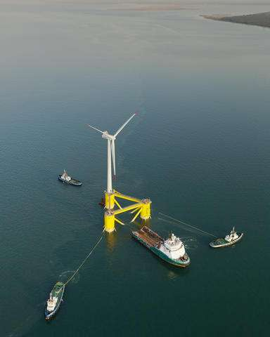 Companies propose deep-water wind farms off Hawaii shores