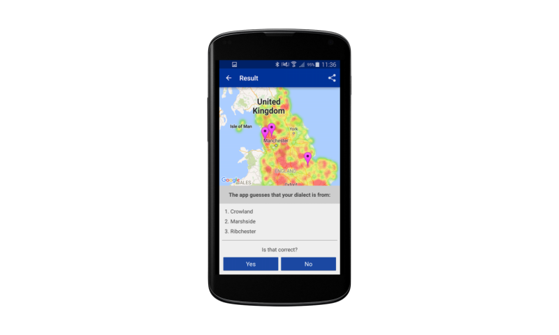 Do you say splinter, spool, spile or spell? English Dialects app tries to guess your regional accent