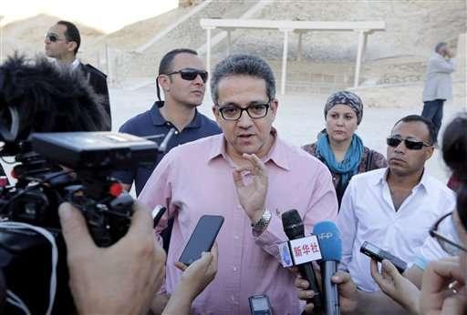 Egyptians get more scans of secret rooms behind Tut's tomb