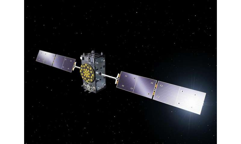 Galileo's Ariane 5 arrives at Europe's Spaceport