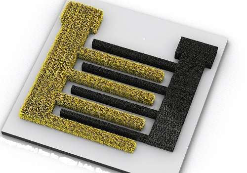 Improved microscale energy storage units for wearable and miniaturized electronic devices