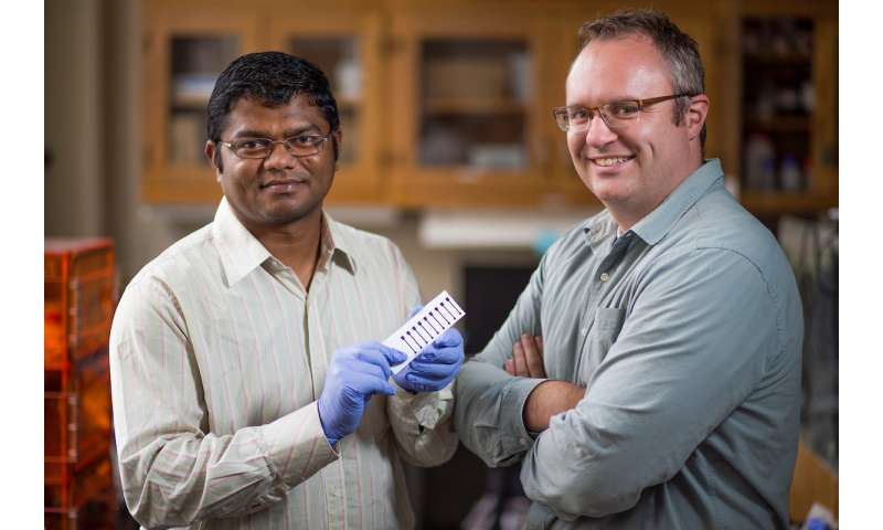 Iowa State engineers treat printed graphene with lasers to enable paper electronics