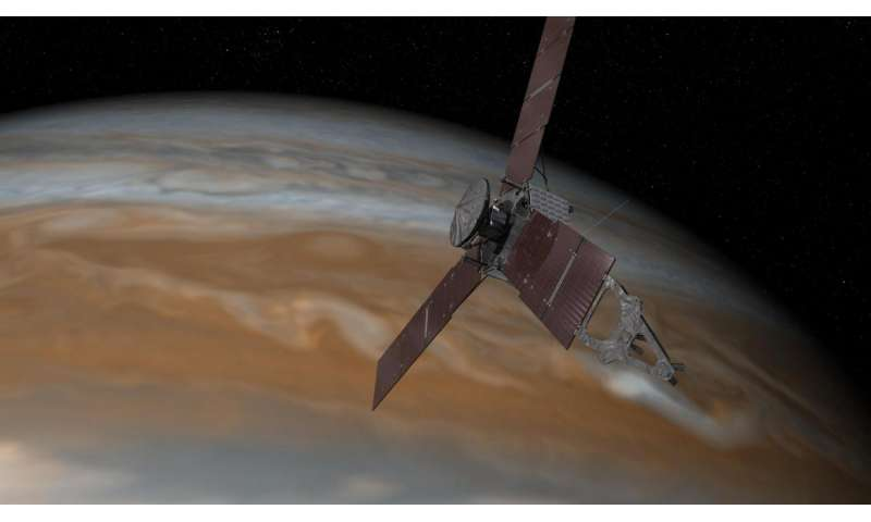 Juno spacecraft in safe mode for latest Jupiter flyby
