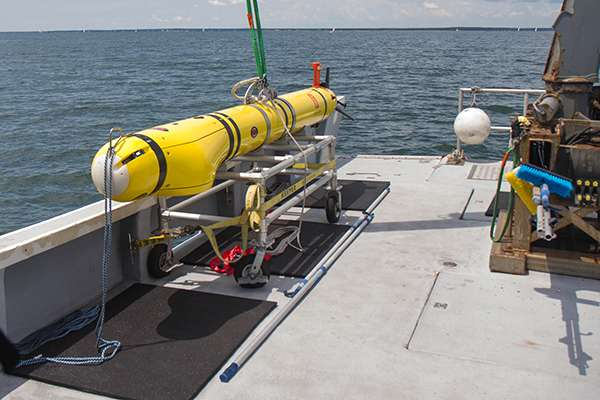 Paper demonstrates autonomous underwater vehicles can be pre-programmed to make independent decisions