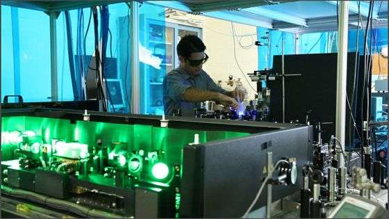 Physicists reach lowest temperature ever recorded in solids using laser cooling