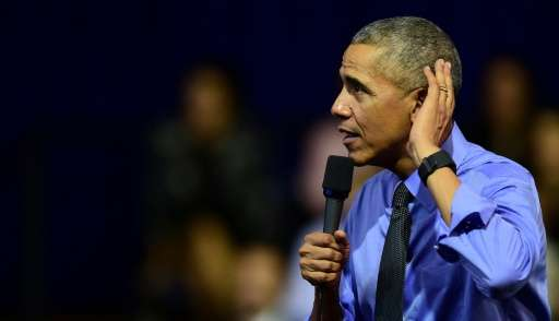 President Barack Obama has warned that fake news threatens the basic principle of freedom of speech