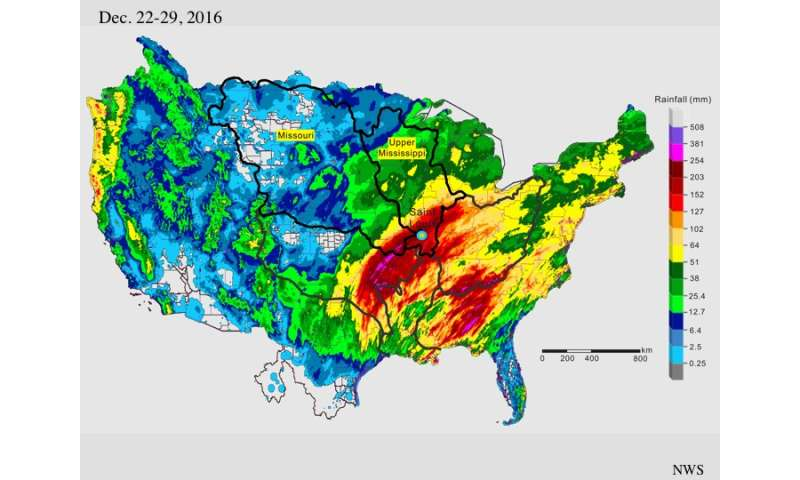Record Missouri flooding was manmade calamity, scientist says
