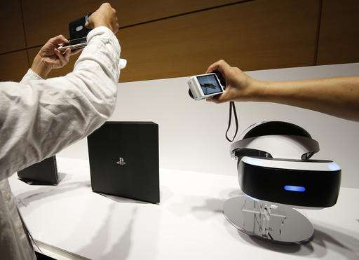 Sony promises VR music video, other entertainment content