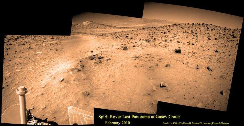 Spirit rover touchdown 12 years ago started spectacular Martian science adventure
