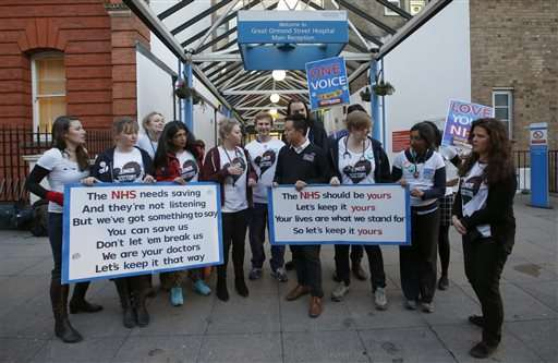 Thousands of UK doctors walk off the job in pay dispute