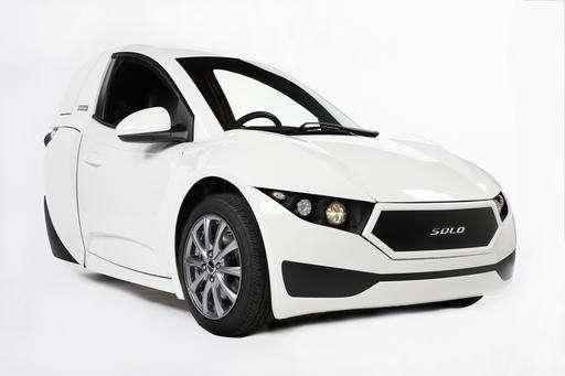 Three-wheeled electric vehicle set to go on sale next year