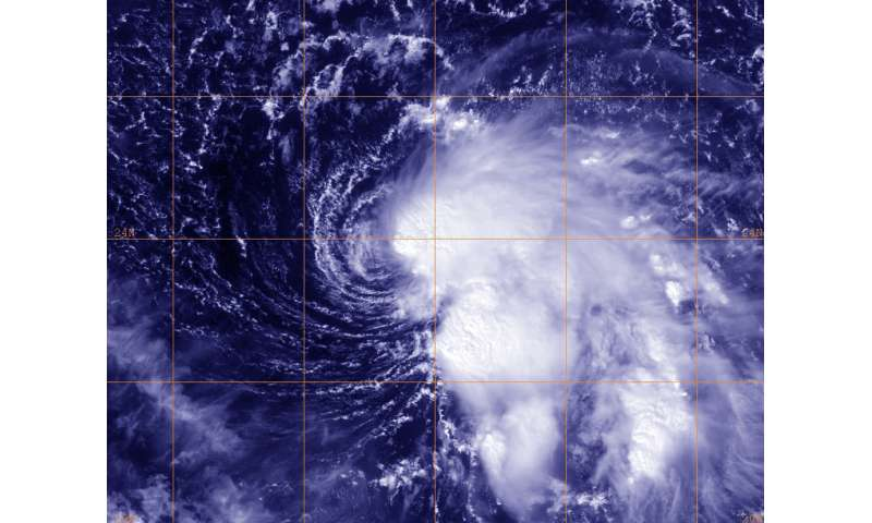 Tropical Storm Nicole forms 500 miles from Puerto Rico