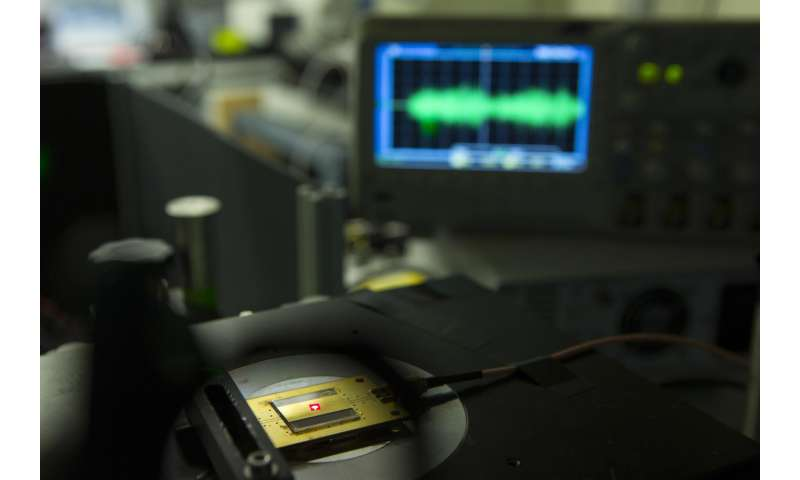 World's smallest radio receiver has building blocks the size of 2 atoms