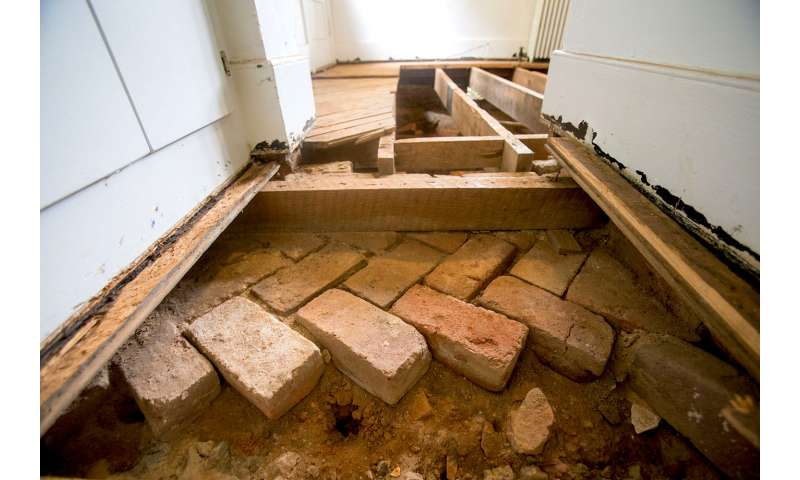 Archaeologists unearth early elements of The Mews