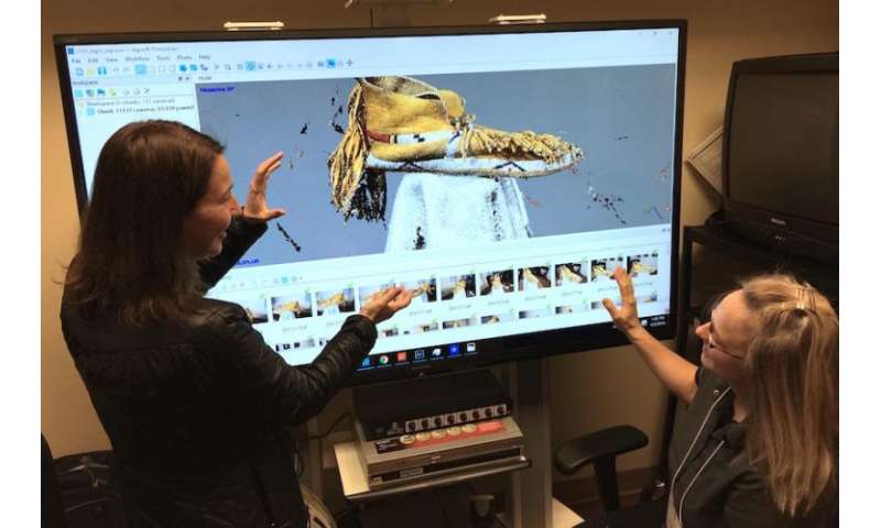 Researchers create new 3-D imagery and documentation of Native American artifacts