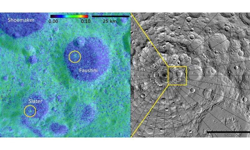 Scientists discover fresh lunar craters