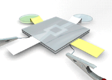 3-D paper-based microbial fuel cell operating under continuous flow condition