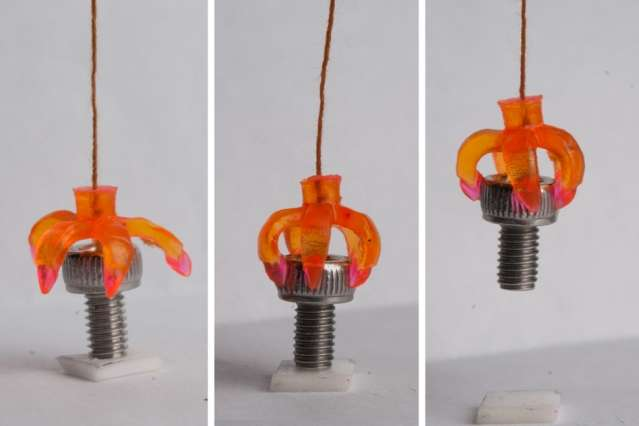 """3-D printed structures that """"remember"""" their shapes"""