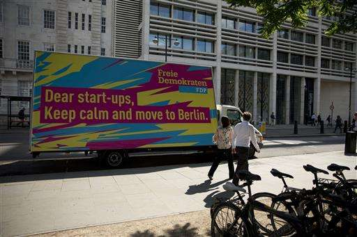Berlin aims to lure British startups fearful over Brexit