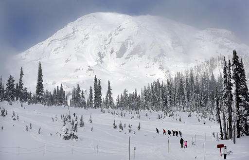 Cell service at Rainier: Do you want to hear me now?