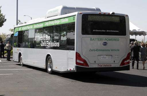 Chinese electric car maker enters US market by selling buses
