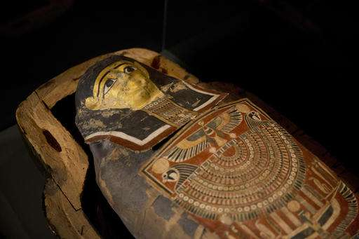 Israel to display ancient mummy with modern-day afflictions