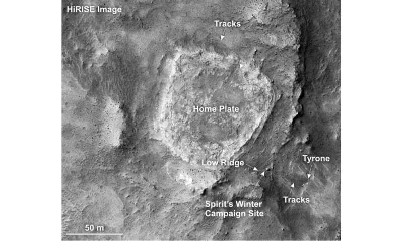 Peculiar 'cauliflower rocks' may hold clues to ancient Mars life