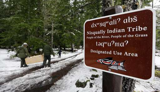 Rare weasel returns to historic range in Washington state