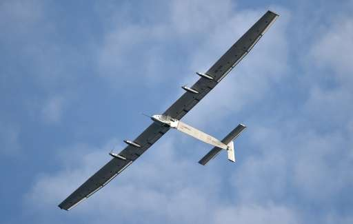 Solar Impulse 2, piloted by Bertrand Piccard and Andre Borschberg, is on the 14th leg of an east-west journey that began March 9