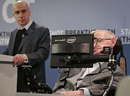 Stephen Hawking joins futuristic bid to explore outer space (Update)
